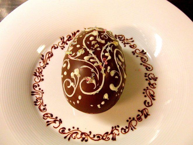 Chocolate Fabergé Egg
