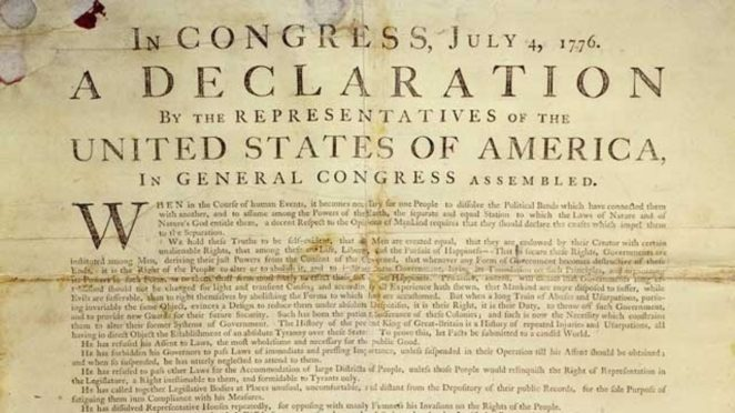 Declaration of Independence,