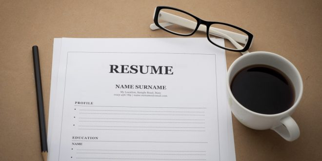 Guidelines on resume writing