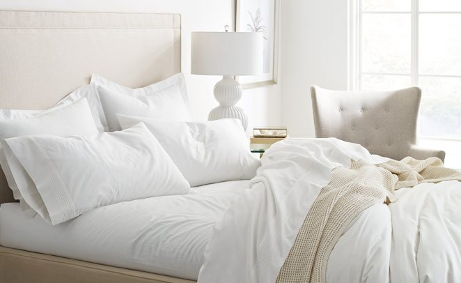 Neutral Colors for Spring Bedding